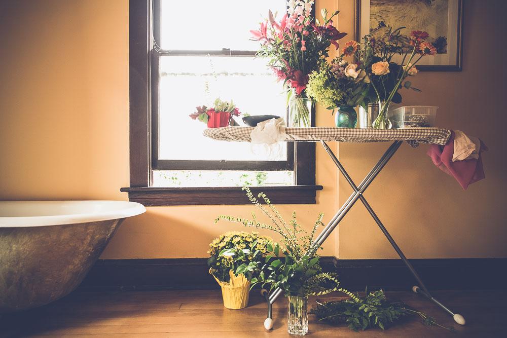 Botanicals for Milk Bath Photography