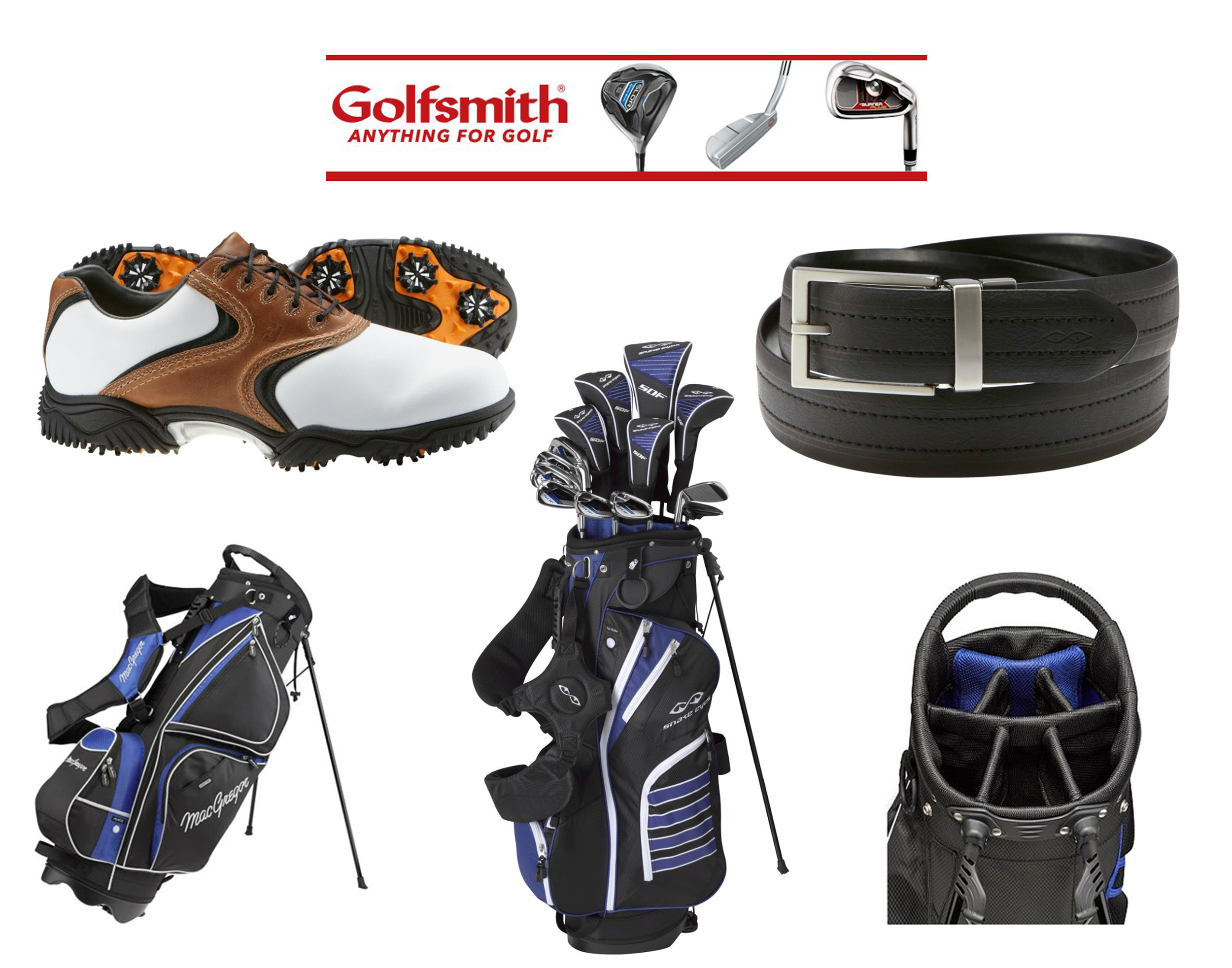 """Golfsmith """"Anything for Golf"""" Campaign"""