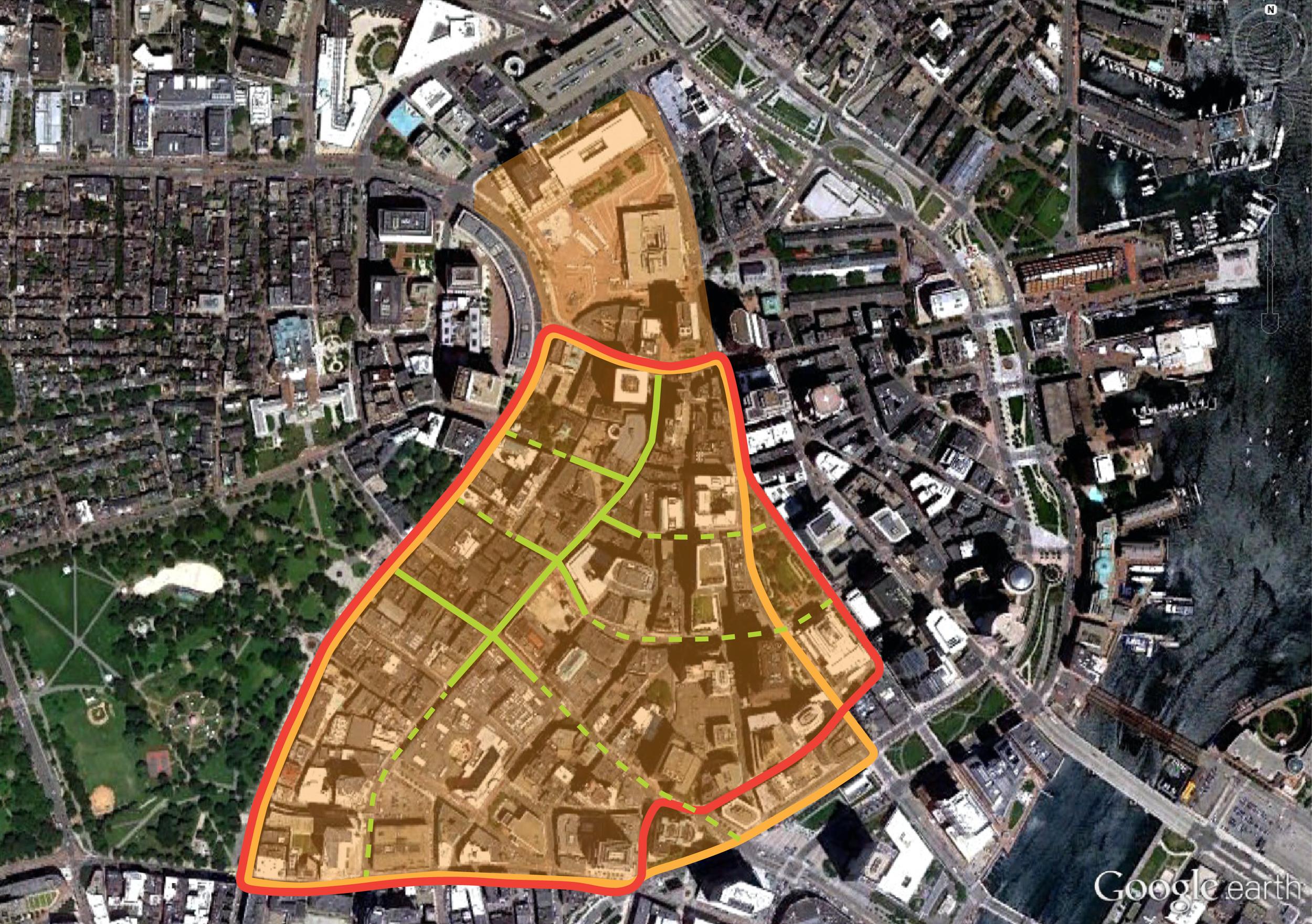 Pedestrian Zone Master Plan