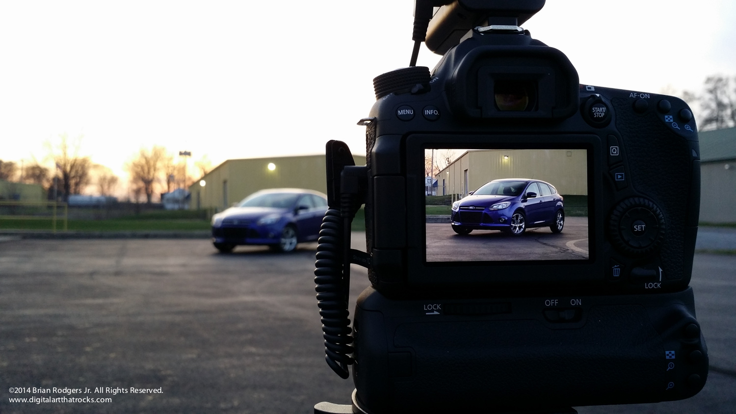 automotive photography behind the scenes ©2014 Brian Rodgers Jr. All Rights Reserved.