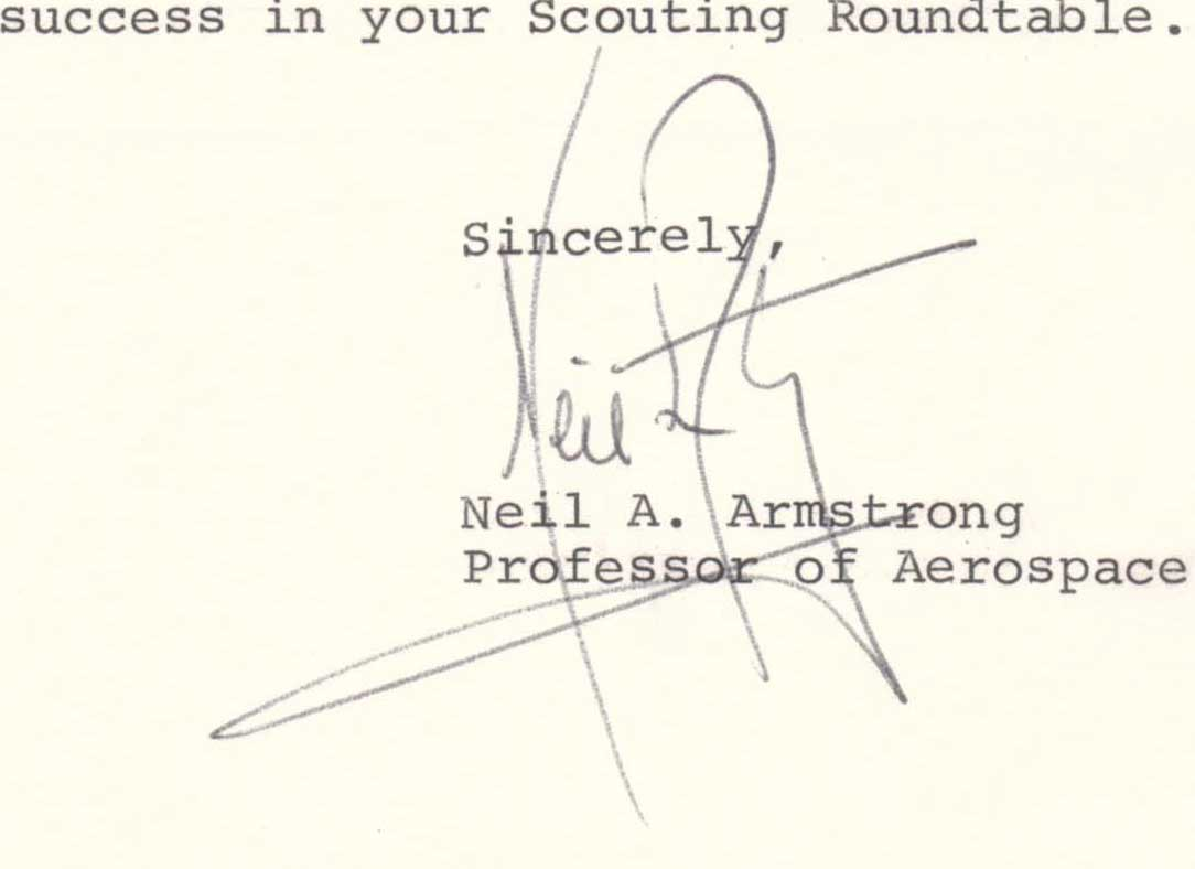 Typed letter, 1972