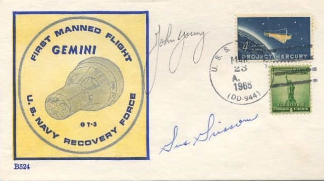 Gemini III forgery from a prolific and skilled forger who sold online, early 2000s