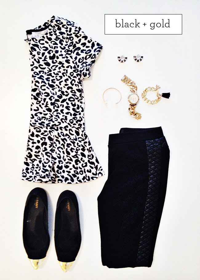Black and Gold Style | Simply Jessica Marie