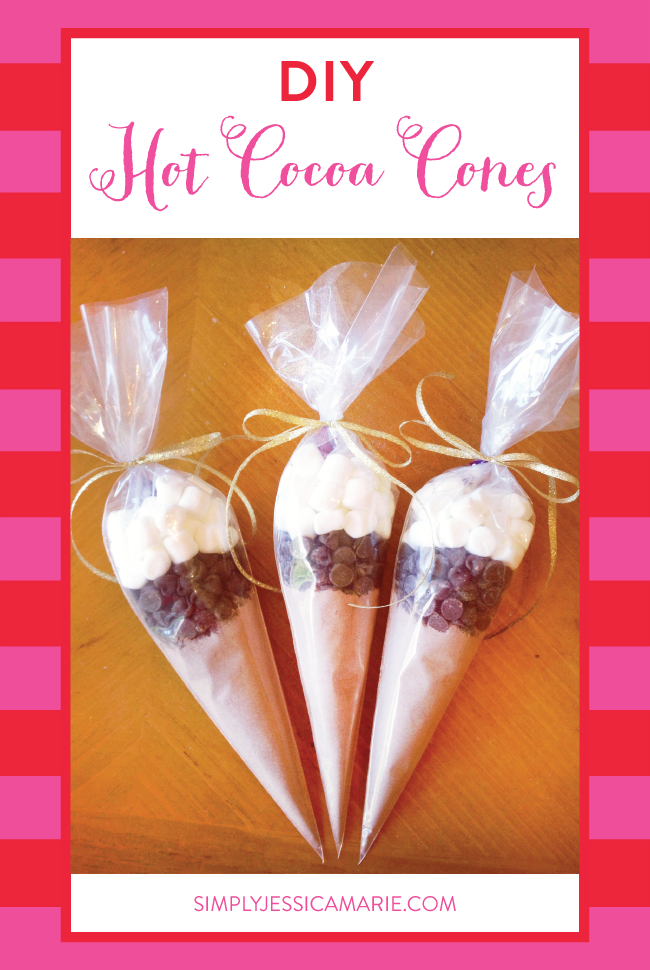 DIY Hot Cocoa Cones | Simply Jessica Marie