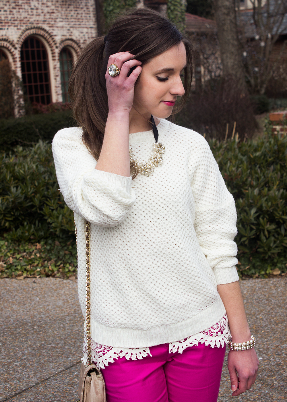 Valentine's Day Casual Date Outfit by Simply Jessica Marie