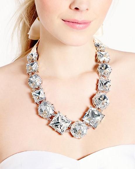 Kate Spade Crystal Kaleidoscope Necklace