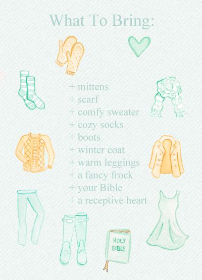 Custom Illustrations for Return to Rest Retreat
