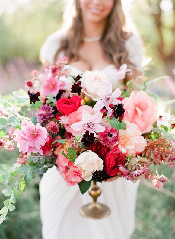 Floral Arrangement by Rockrose Floral Design Featured on Magnolia Rouge