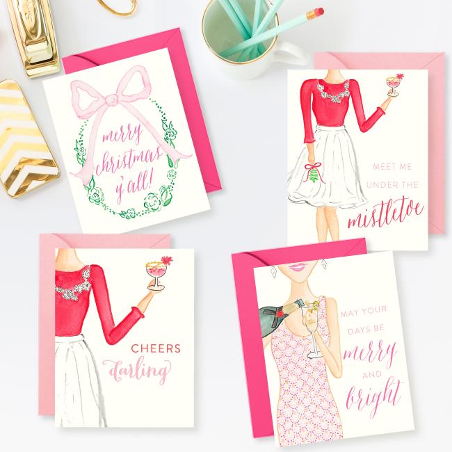 Simply Jessica Marie Christmas Card Set