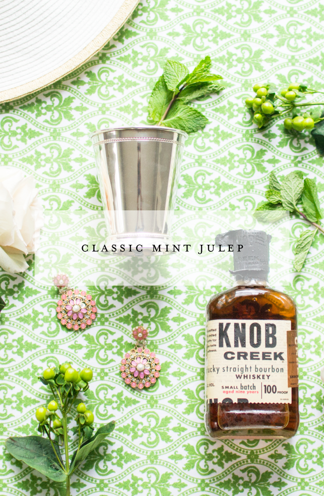 Mint Julep Cocktail Recipe by Simply Jessica Marie | Zipporah Photography