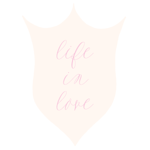 Life in Love Badge by Simply Jessica Marie