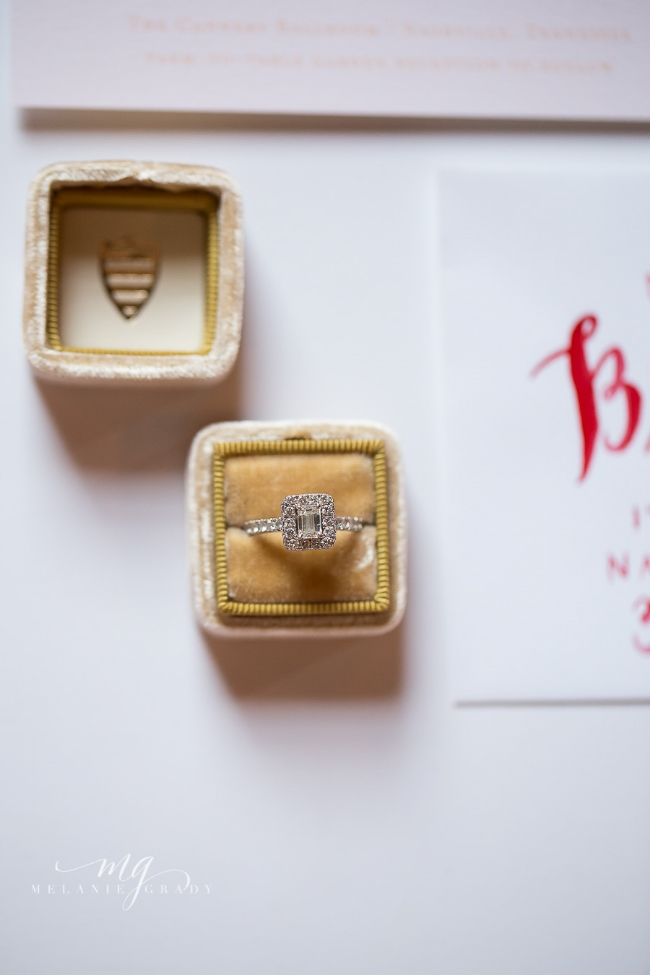 Roma Red Wedding Inspiration | Simply Jessica Marie Wedding Invitations | Melanie Grady Photography | The Big Fake Wedding Nashville featured on Ruffled Blog