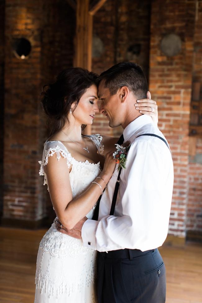 Roma Red Wedding Inspiration | Simply Jessica Marie Wedding Invitations | The Big Fake Wedding Nashville featured on Ruffled Blog | Casto Photography