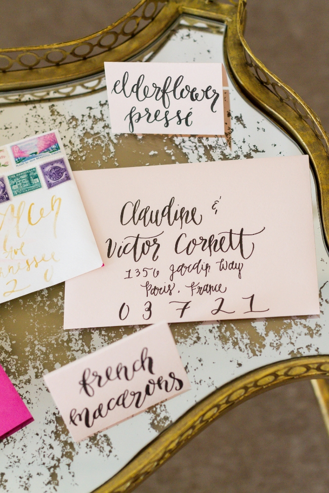 Simply Jessica Marie Brush Calligraphy Workshop at Belle Faire with Encourage Huntsville in Alabama