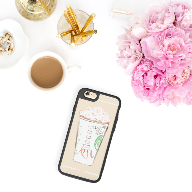 Pumpkin Spice Latte iPhone Case by Simply Jessica Marie for Casetify