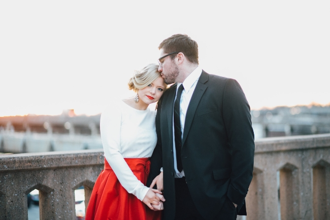Moody Romantic Valentine's Day Styled Shoot | Heather Faulkner Photography