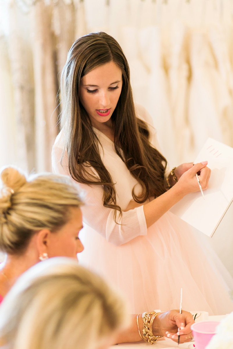 Knoxville Tennessee Brush Calligraphy Workshops by Simply Jessica Marie   Photo by Amy Nicole Photography