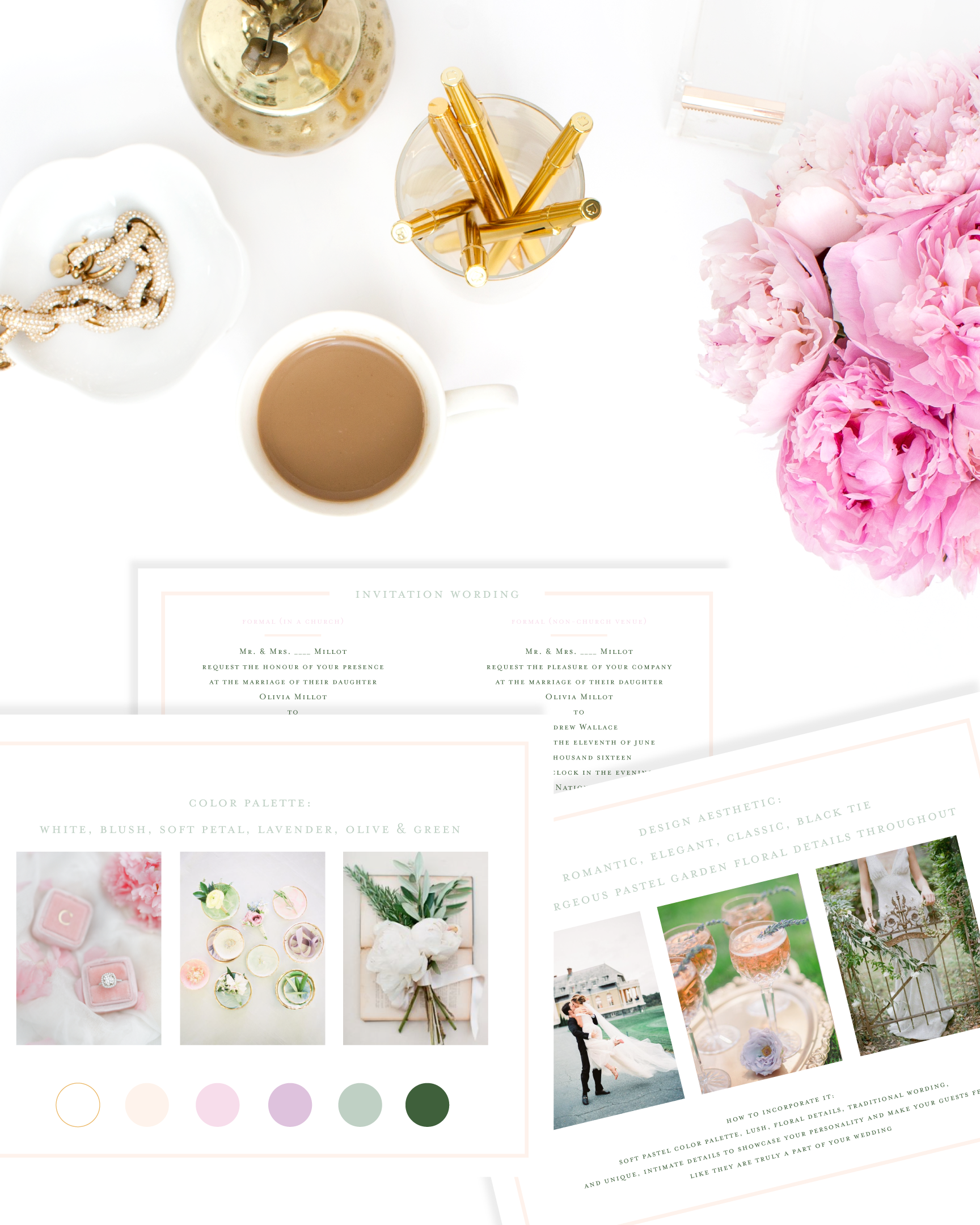 Custom Design Look Book for Wedding Invitations by Simply Jessica Marie