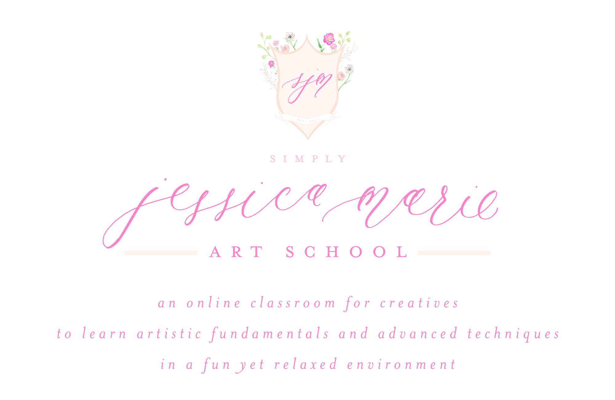 SJM Art School by Simply Jessica Marie