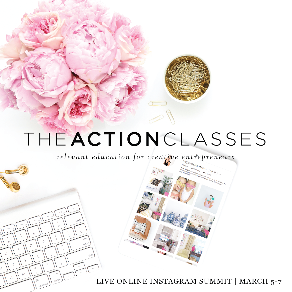 The Action Classes by Megan Martin | Live Instagram Summit