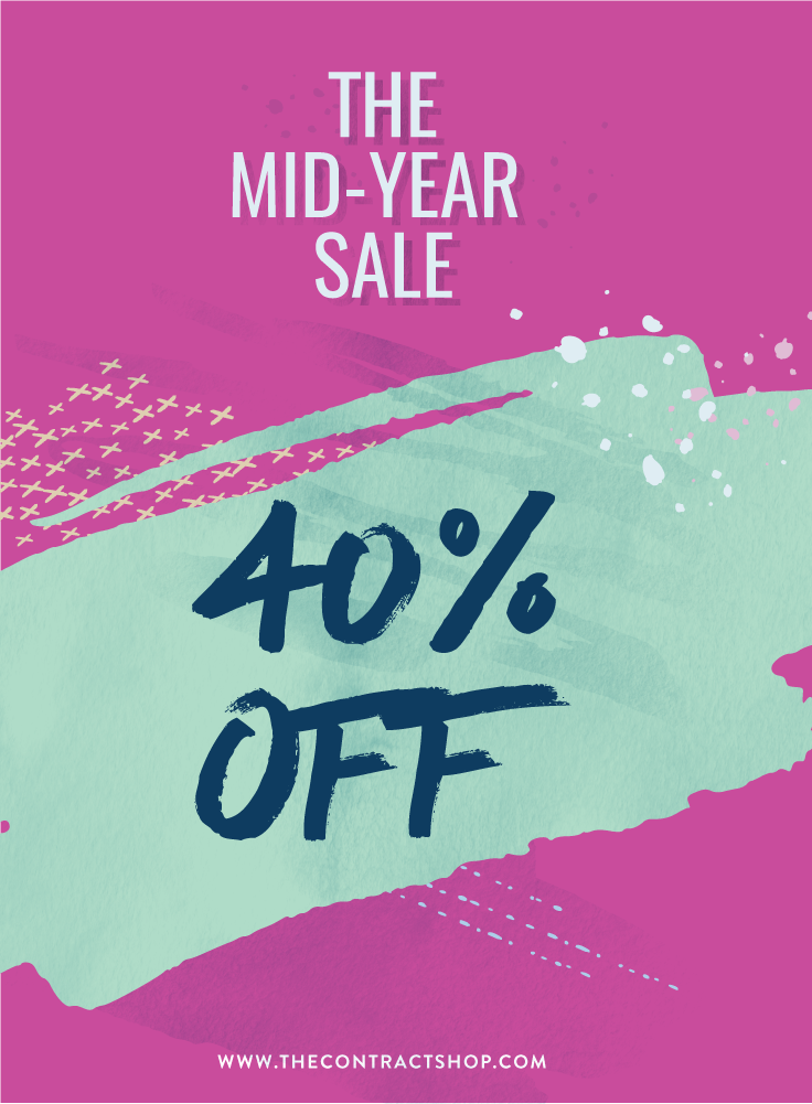 The Contract Shop 40% Off Sale