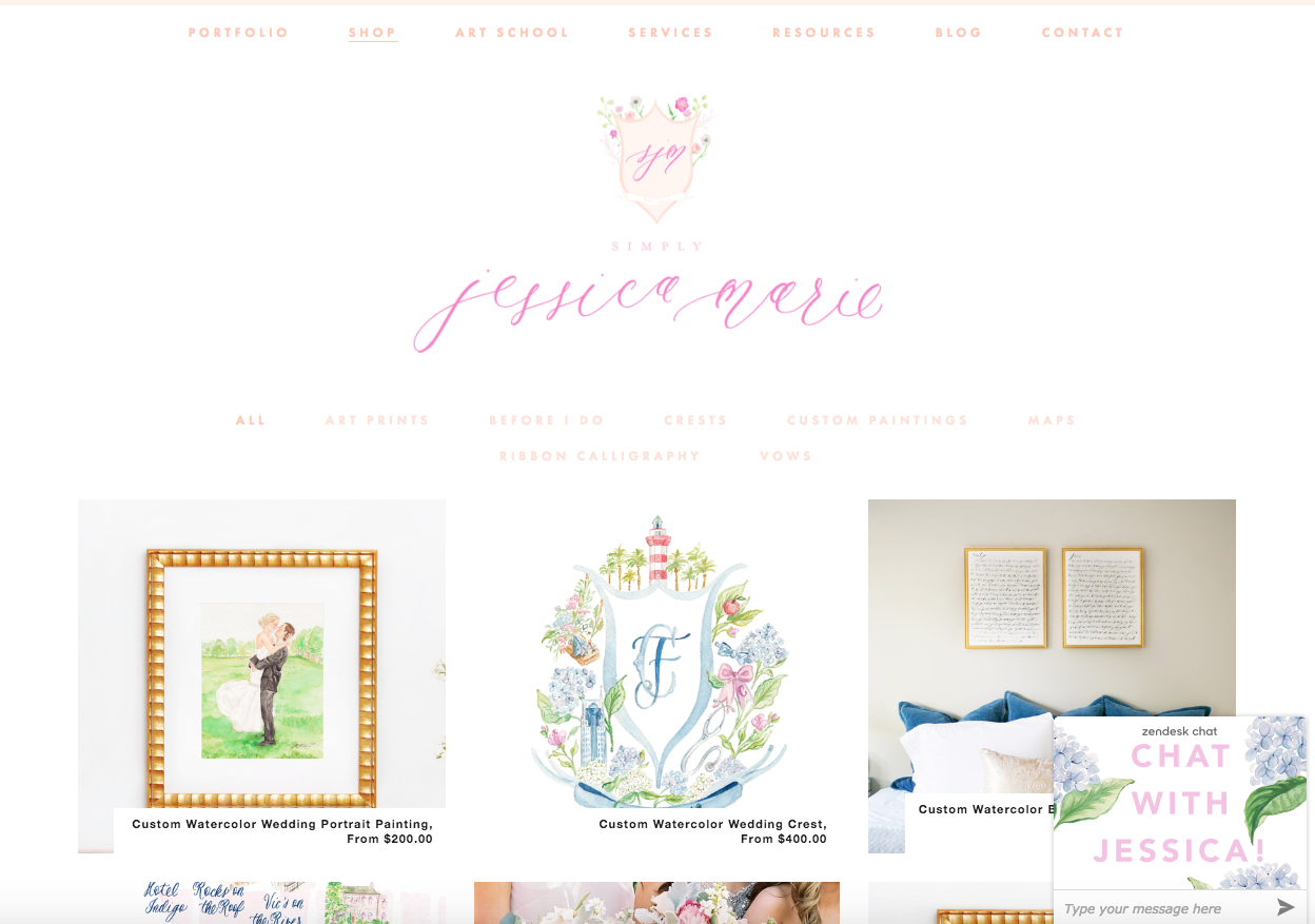 The Wedding Shop by Simply Jessica Marie
