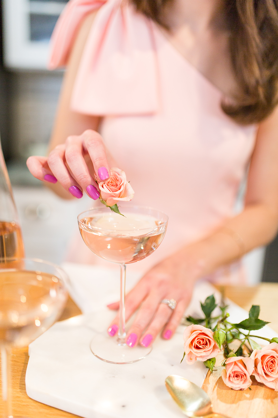 Rosé Spritzer Cocktail Recipe by Simply Jessica Marie | Sami Kathryn Photo