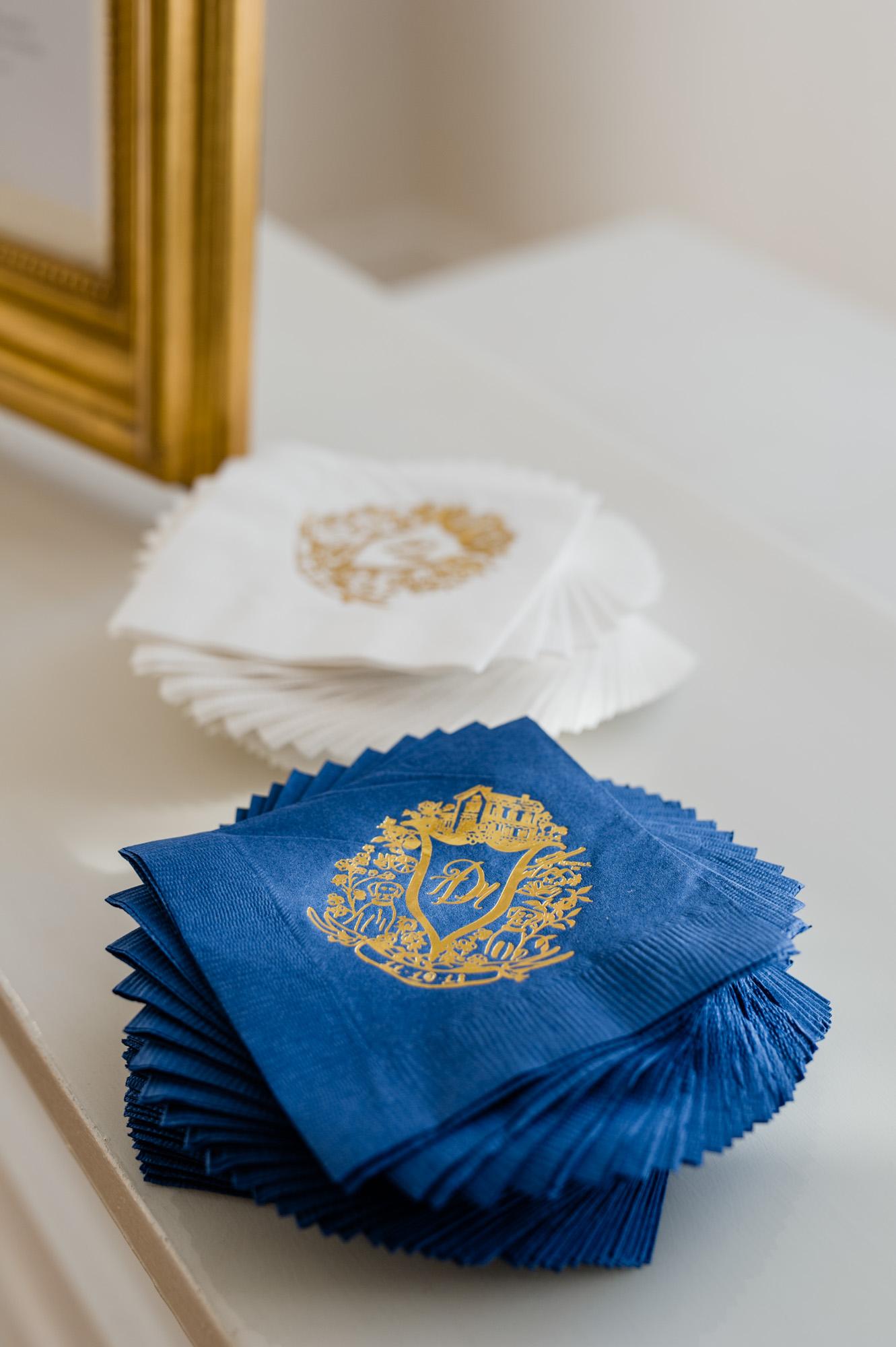vector crest, gold foil