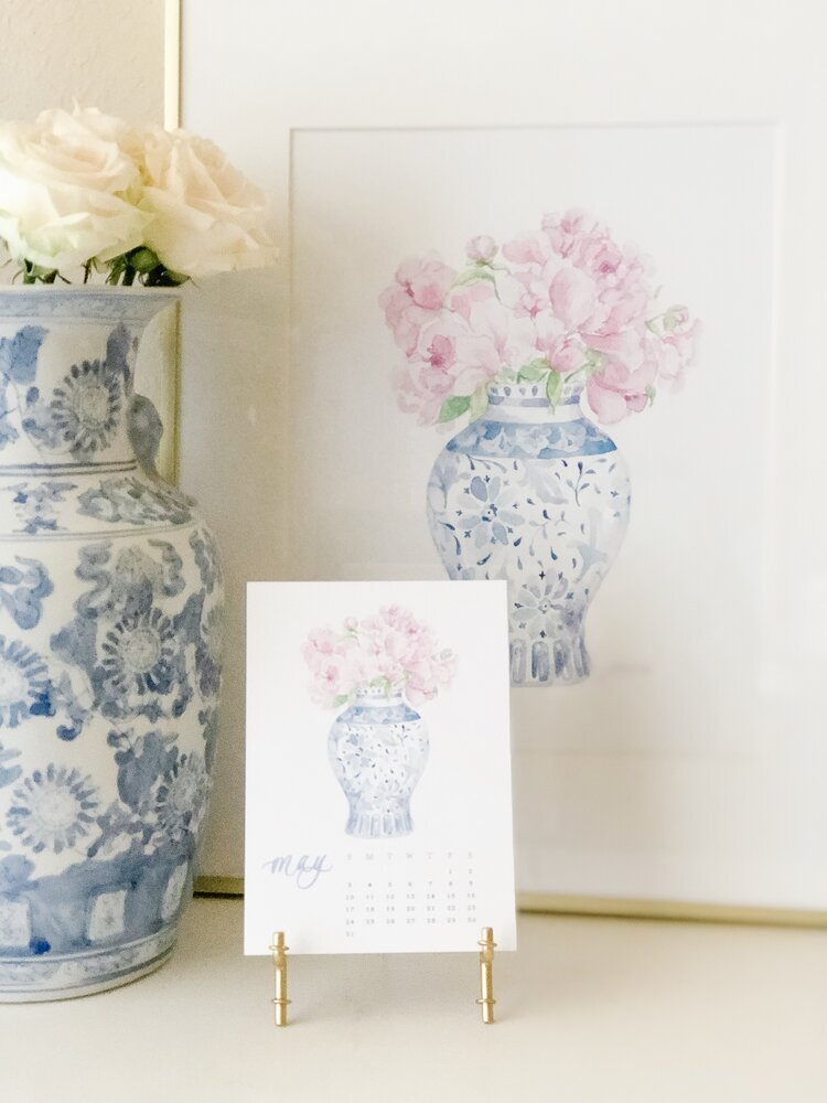 Ginger JarPeony Notepads