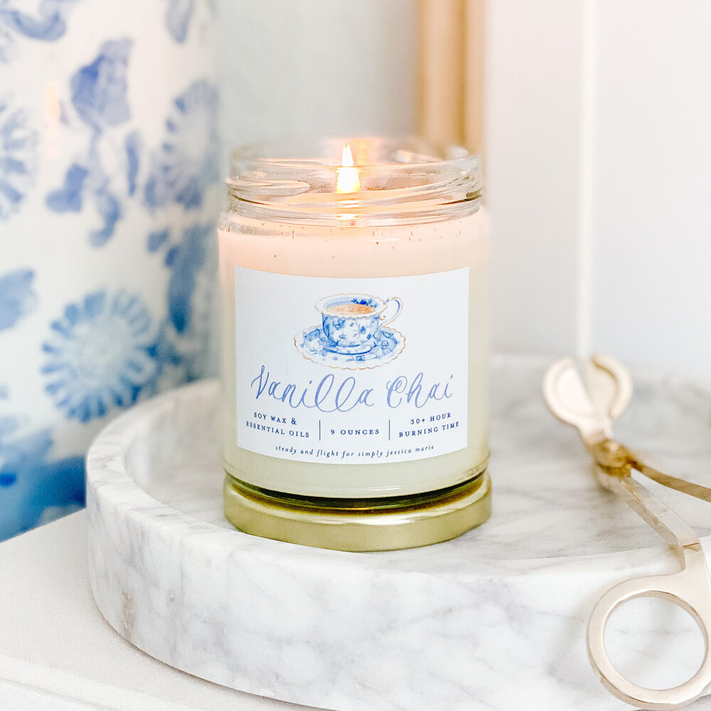 Vanilla Chai Candle
