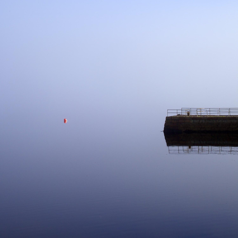 A Lonely Orange Buoy In Argyll