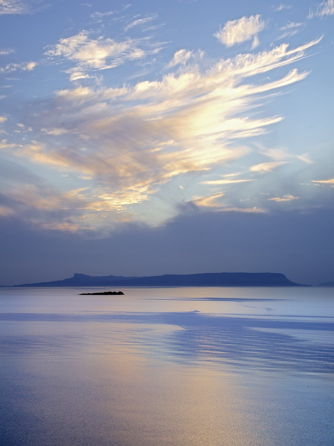 Clouds and Eigg