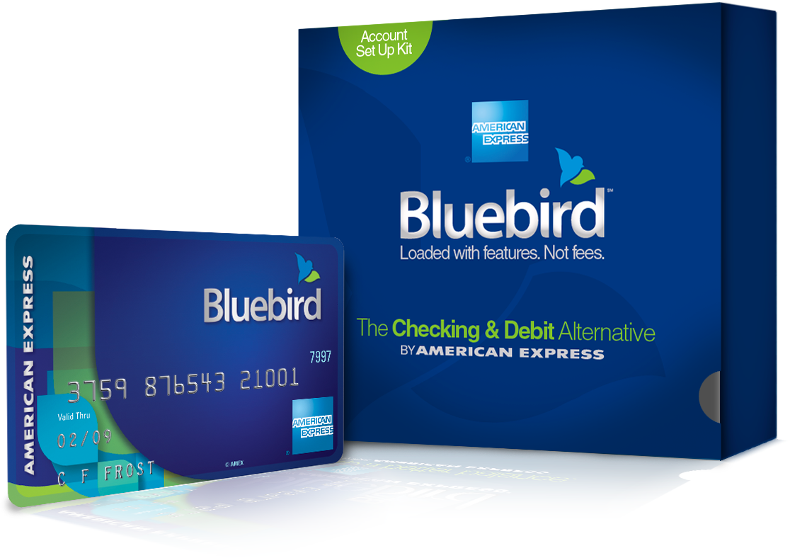 Bluebird card & package