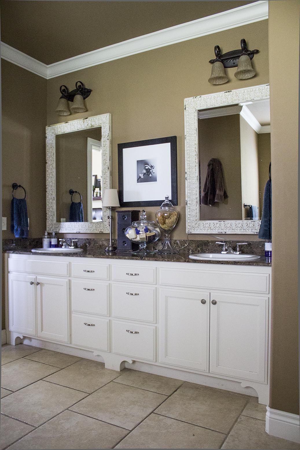 My current master bath vanity.