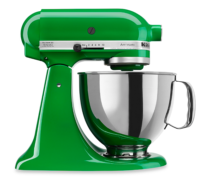 Canopy Green KitchenAid Stand Mixer - Bed Bath & Beyond  (Use that 20% Off Coupon!!!)