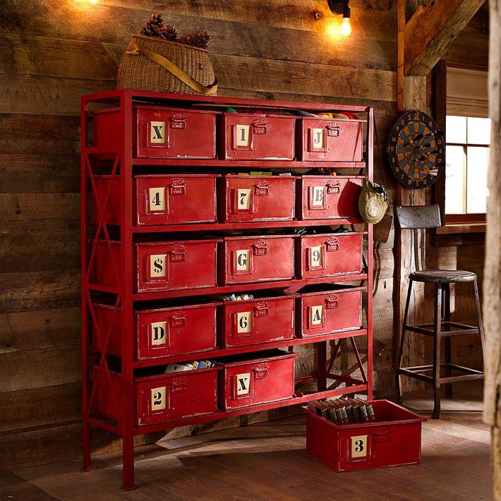 Rockwell 15-Drawer Bookcase - PB Teen