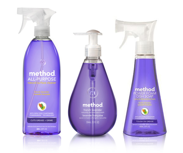 All-Purpose Cleaner   |   Hand Soap   |   Dish Soap  - Method Home (Available at Target)