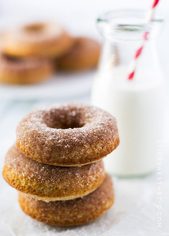 Cinnamon-Sugar Donuts