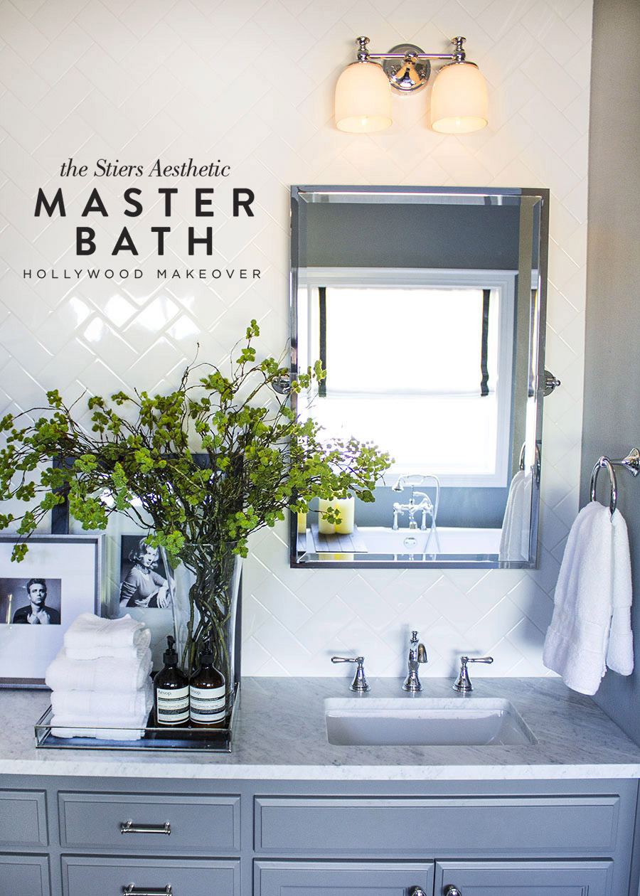 Master Bath - The Stiers Aesthetic