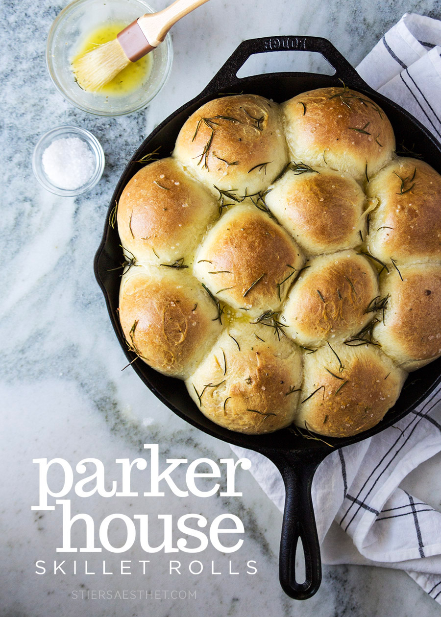 Parker House Rolls - The Stiers Aesthetic