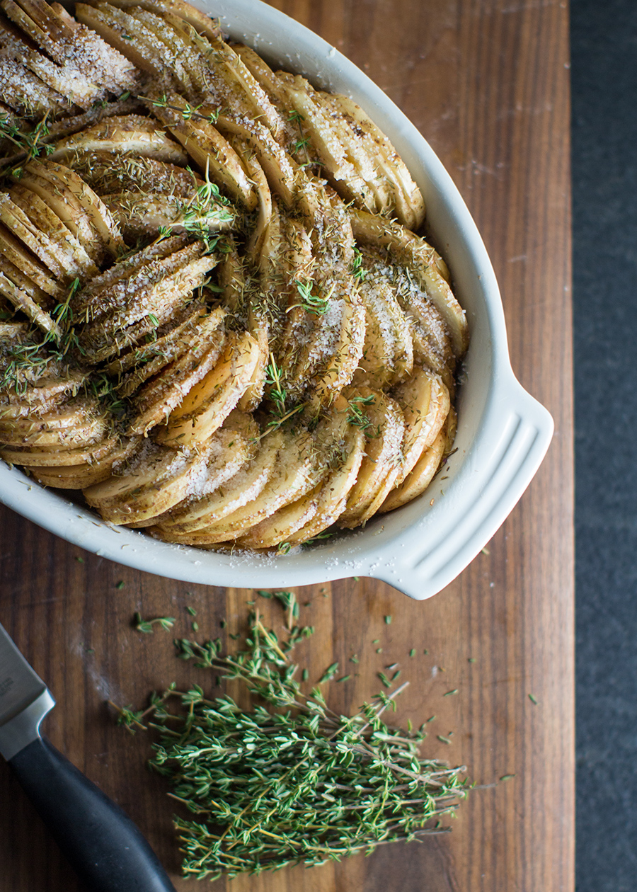Roasted Potatoes with Thyme