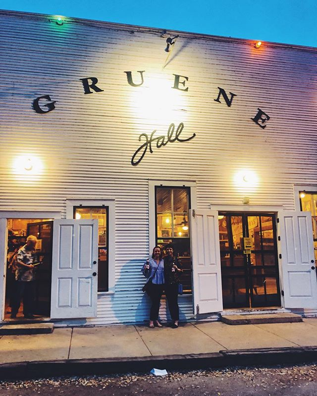"""""""Y'all can take yer beers outside if ya want,"""" they said as they kicked us out of the yard for a concert.  #opencontainer #texas #gruenehall"""