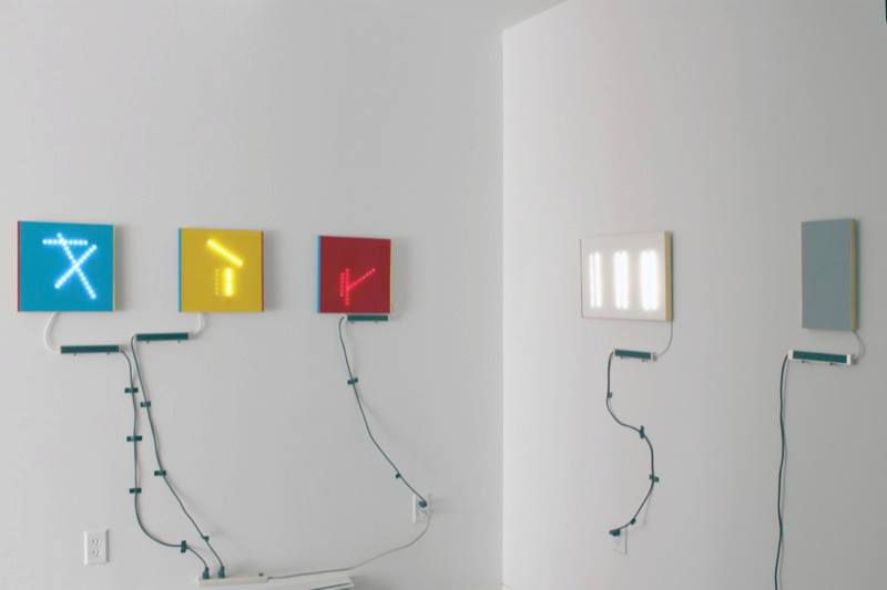 Installation view, Rin Johnson