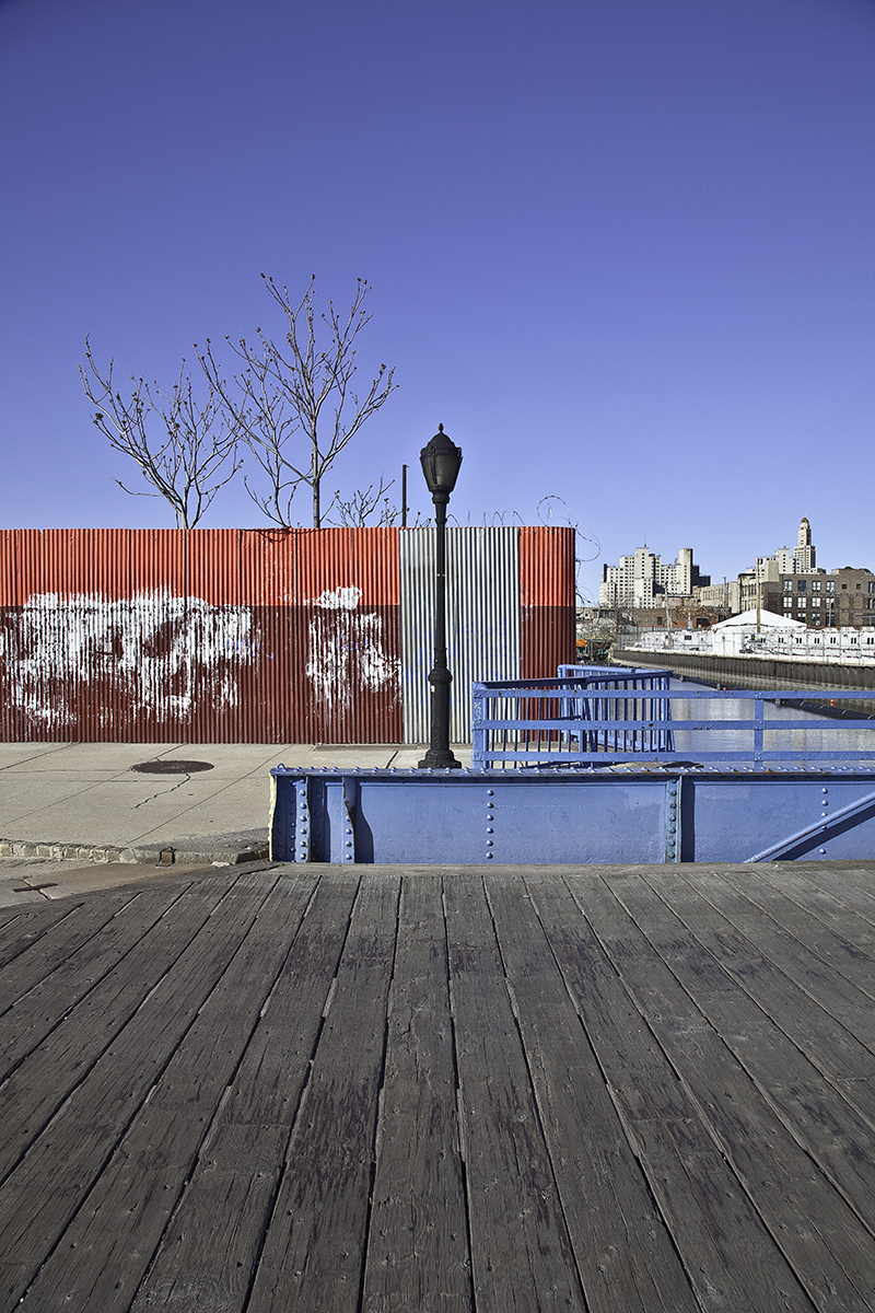 View from the Carroll Street Bridge, Gowanus Canal  , 2010; Archival pigment print; 17 x 11 inches
