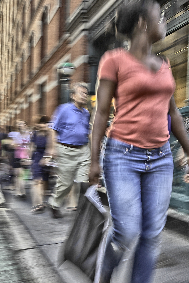 Prince Street, Motion series  , 2010; Archival pigment print; 17 x 11 inches
