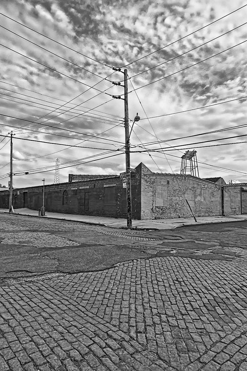 Old Warehouse  , 2011; Archival pigment print; 17 x 1 1 inches