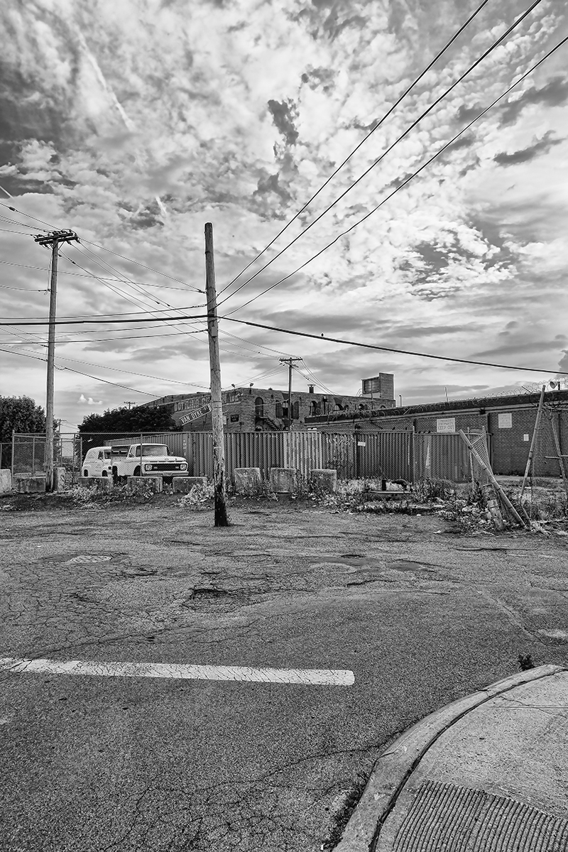 Van Dyck Street, Red Hook  , 2011; Archival pigment print; 17 x 1 1 inches