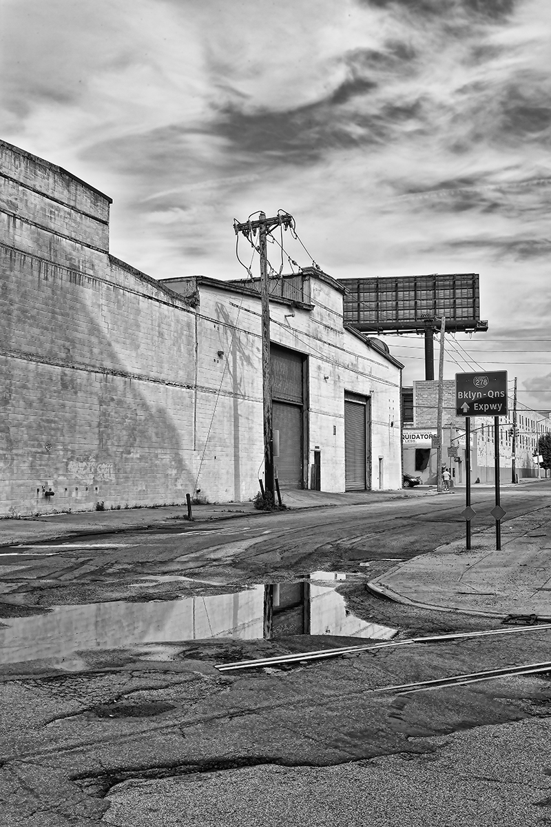 Side Street, Red Hook  , 2011; Archival pigment print; 17 x 1 1 inches