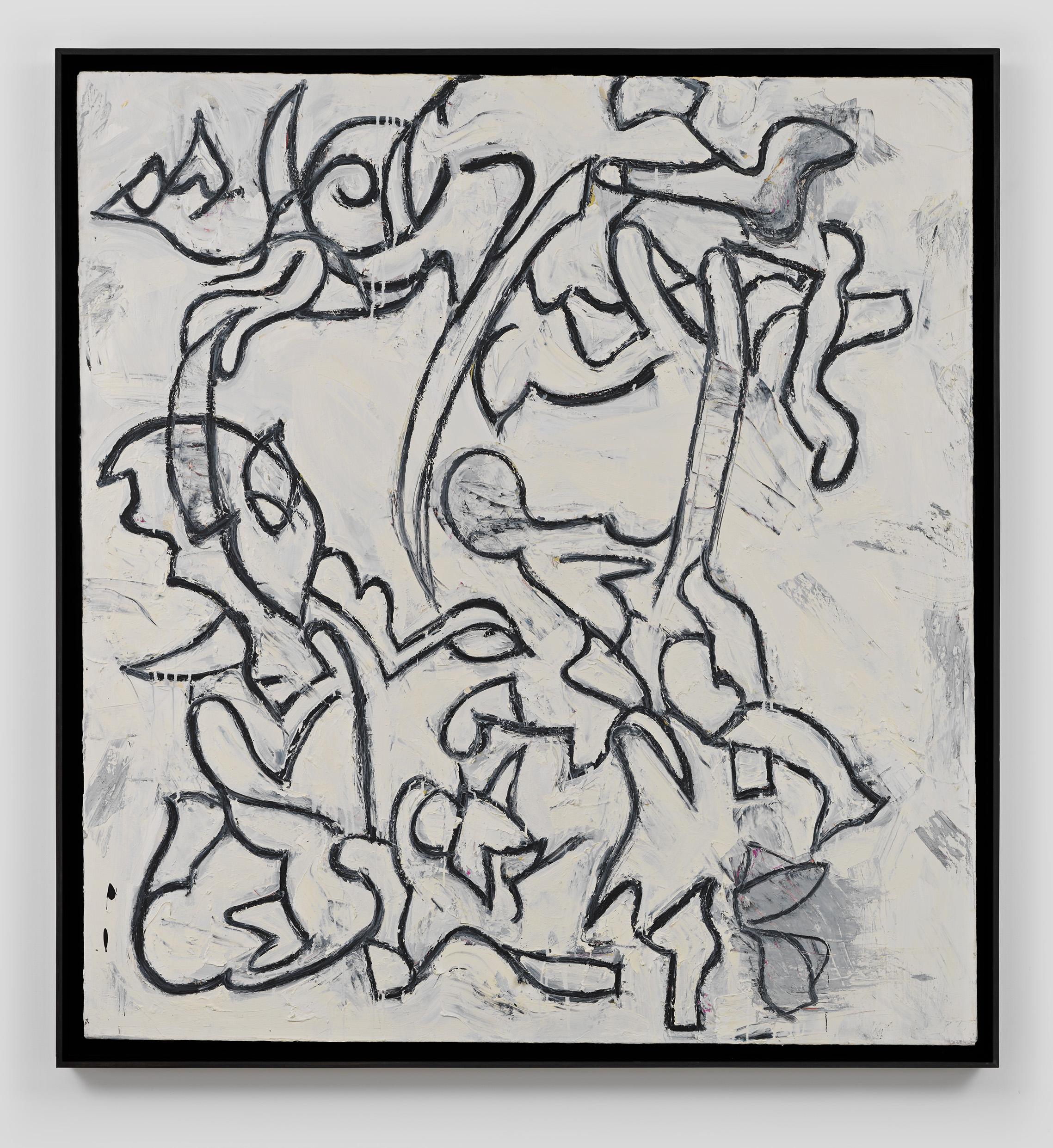 Memoir  2013 Oil on canvas 54 x 58 inches; Framed: 57 x 61 inches GW004