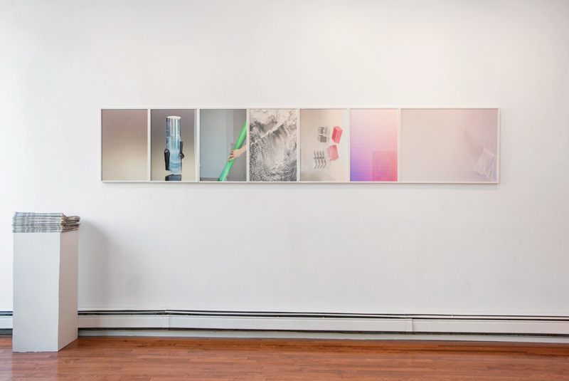 Installation view:  Ambients,  Peninsula Art Space, Brooklyn, NY, 2014